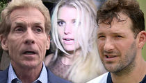 Skip Bayless -- Jessica Simpson Damaged Tony Romo ... 'Tumultuous Relationship'