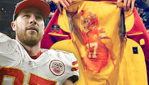 Travis Kelce -- Rocks $2,700 Chiefs Themed Suit ... For Dating Show Premiere