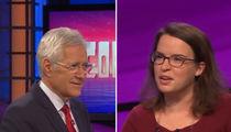 Alex Trebek -- I Got a Real Loser on 'Jeopardy!' (VIDEO)