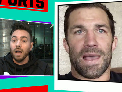Luke Rockhold -- Greg Hardy's So 'Far Lost' ... He Doesn't Deserve To Fight (VIDEO)