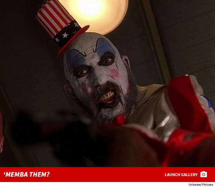 Sid Haig is best known for playing the creepy killer clown Captain Spaulding in Rob Zombieu0027s Halloween horror staples u0027House of 1000 Corpsesu0027 and u0027Devilu0027s ...  sc 1 st  TMZ.com & Captain Spaulding in u0027House of 1000 Corpsesu0027 and u0027Devilu0027s Rejects ...
