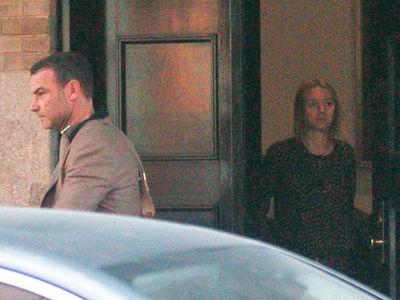 Naomi Watts & Liev Schreiber -- Breaking Up Is Hard To Do (PHOTO)