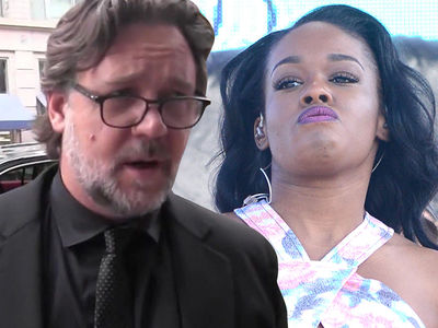 Russell Crowe -- Tosses Azealia Banks From Suite ... Witnesses Say She Made Bloody Threat