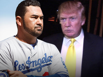 Dodgers' Adrian Gonzalez -- Refused to Stay at Trump Hotel ... 'I Had My Reasons'