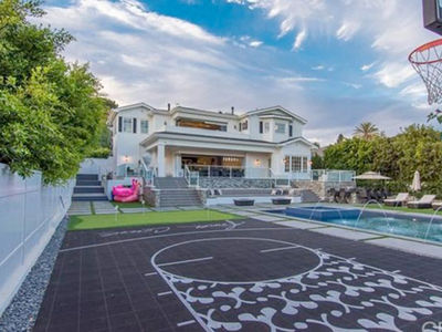 DeAndre Jordan -- Lists Insane $12 Mil L.A. Mansion ... Indoor Hot Tub?? (PHOTO GALLERY)