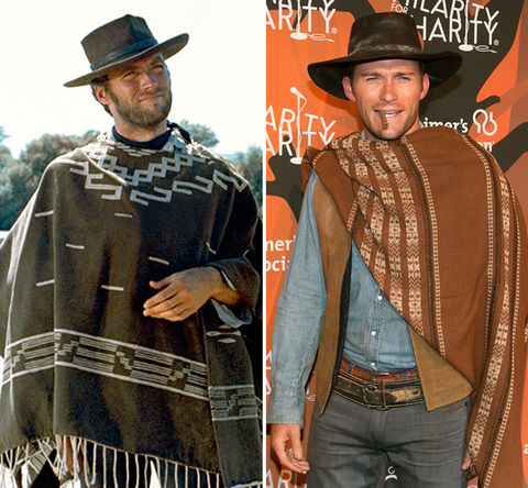 Like father like son ...  Clint Eastwood vs. Scott Eastwood