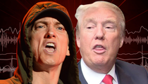 Eminem -- 'Loose Cannon' Trump Can't Be Prez! (AUDIO)