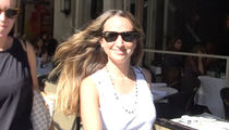 Jennifer Meyer -- All Smiles After Split From Tobey Maguire (VIDEO)