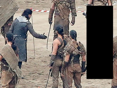 'Game of Thrones' Set Pics -- Jon Snow's New Ally Revealed ... Major Spoiler! (PHOTO GALLERY)