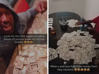 Gilbert Arenas -- I'M ROLLIN' IN CASH ... And Hiding It From My Baby Mama (VIDEO)