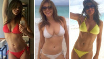 38 Pics Of Elizabeth Hurley's Hot Mom Bod in a Bikini ... #WCW!