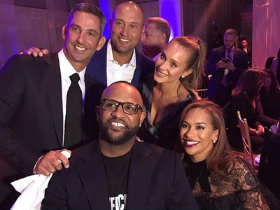 Derek Jeter -- Reunites With Yankees Studs ... At Massive NYC Bash (PHOTO GALLERY + VIDEO)