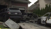 UFC's Anthony Pettis -- Cars Torched In Fire Attack ... At Fighter's Home (PHOTO)