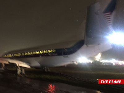 Mike Pence -- Plane Slides Off Runway in NYC