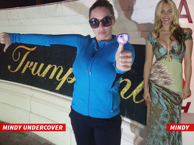 Donald Trump Accuser -- I Voted ... Incognito! (PHOTO)