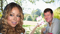 Mariah Carey -- James Packer Super Lovey Dovey Before Yacht Trip