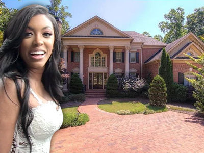 'RHOA' Star Porsha Williams -- NeNe's New Neighbor ... We're Mansion Mates!