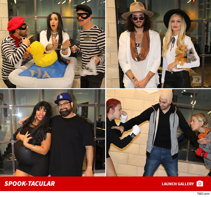 The TMZ staff turned the yearu0027s biggest headlines into Halloween costumes ... with everything from the Johnny Depp and Amber Heard orce to Blac Chyna and ...  sc 1 st  TMZ.com & TMZu0027s Halloween Pics | TMZ.com