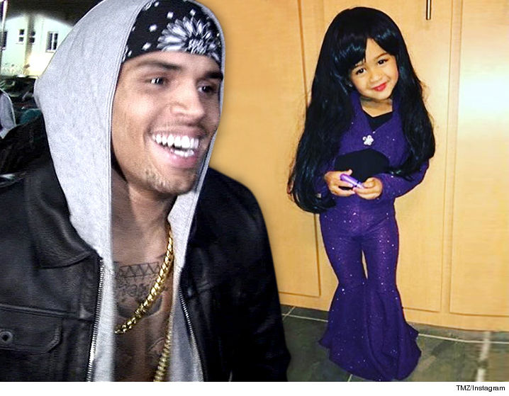 Chris Brown's Daughter Selena's Family Beaming After Royalty Homage
