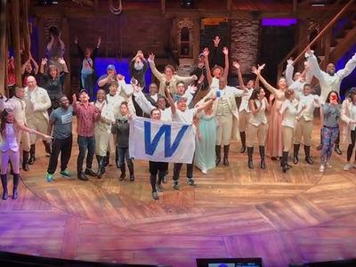 'Hamilton' Cast -- Best 'Go Cubs Go' Performance Ever!? (VIDEO)