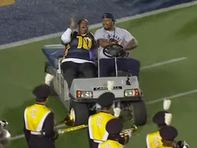Marshawn Lynch -- Recreates Golf Cart Hijinks (Hilarious Video!!!)