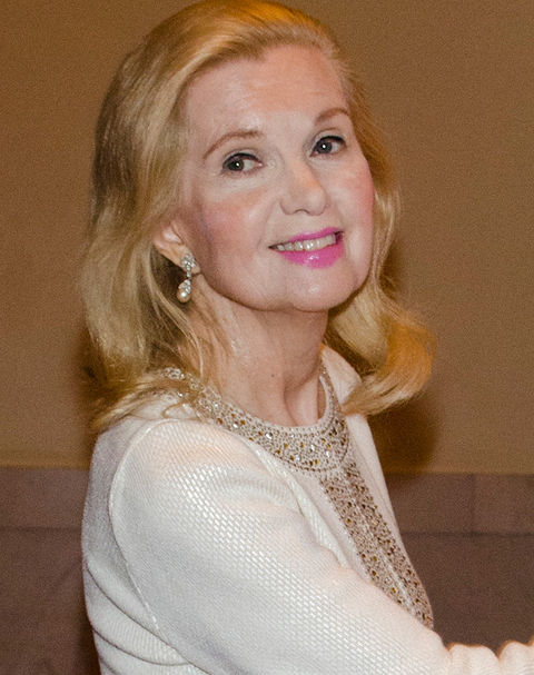 Tricia Nixon was photographed a few years back looking presidential.