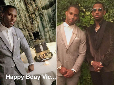 Victor Cruz -- Happy Birthday to Me ... Celeb Party After Giants Victory (PHOTOS + VIDEO)