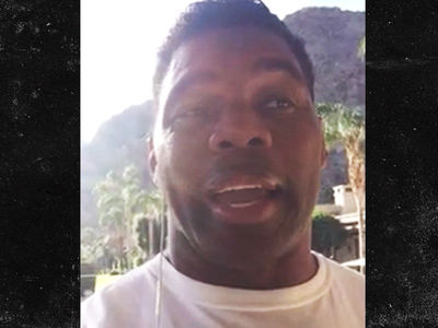 Herschel Walker -- My Black Friends Are Ripping Me ... Over Trump Support (VIDEO)