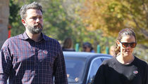 Ben Affleck, Jennifer Garner -- Couples Who Vote Together ... Stay Together? (PHOTO)