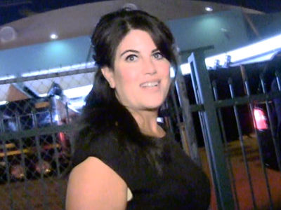 Monica Lewinsky -- Flees America for Election Day ... Dodges Clinton Convo