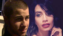 Nick Jonas -- Close With Hot Model ... But Not Hooking Up