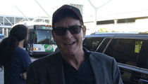 Charlie Sheen -- Rolls with JFK on Election Day (VIDEO)