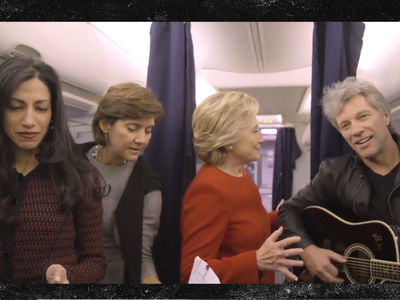 Hillary Clinton -- Mannequin Challenge Complete ... With Bon Jovi & Huma Abedin (VIDEO)