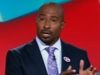 Van Jones -- CNN Star Calls Trump Victory 'White-Lash' (VIDEO)