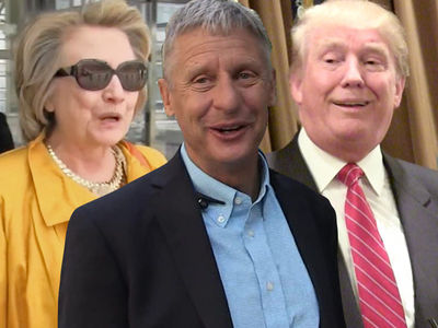 Gov. Gary Johnson -- Hey, Hillary Fans ... It's Not My Fault You Took the 'L'