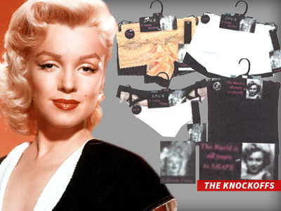 Marilyn Monroe Estate -- Sues Lingerie Line ... Keep This Blondie Out of Your Panties