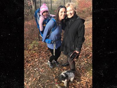 Hillary Clinton -- Takes a Hike (PHOTO)