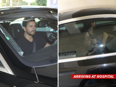 Kourtney Kardashian and Scott Disick -- Visit Baby Kardashian ... It Was All a Dream (PHOTO)