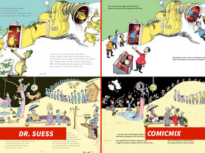 Dr. Seuss -- Oh, The Lawsuits You'll See! (PHOTO GALLERY)