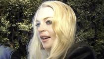 Lindsay Lohan -- Roped Into Vegas Hotel Battery Case
