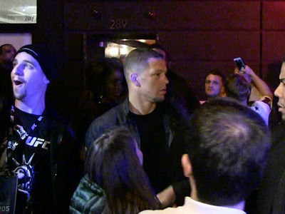 Nate Diaz -- Surprise Guest at Conor's Party ... You Got Next, Bro? (VIDEO)