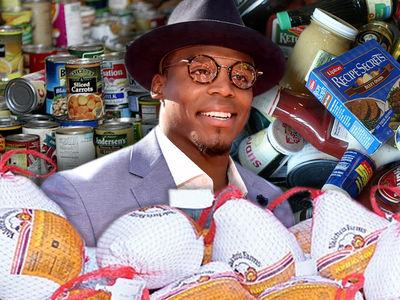 Cam Newton -- Throwing Massive Thanksgiving Dinner ... 800 Kids!!