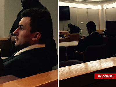 Johnny Manziel -- Strikes Tentative Dismissal Deal ... In Domestic Violence Case