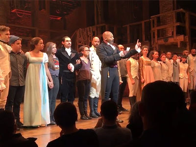 Mike Pence at 'Hamilton' -- Shots Fired By Fake Aaron Burr ... Trump Infuriated
