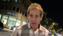 FS1's Skip Bayless -- Here's Why Floyd Won't Fight Conor -- Bowk, Bowk, Bowk, Bowk Bowk!!! (VIDEO)