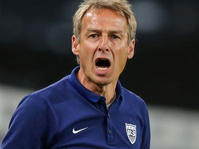 Jurgen Klinsmann -- JUR' FIRED!! ... Axed from U.S. Soccer Team