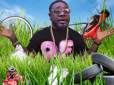 T-Pain -- His Lawn Is Sprung But His Ass Is Grass If He Doesn't Mow