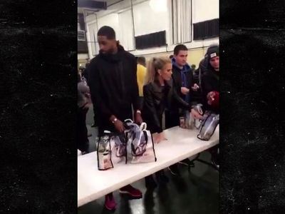 Khloe Kardashian -- Turkey Time with Tristan ... Do We Look Broken Up to You?! (VIDEO)