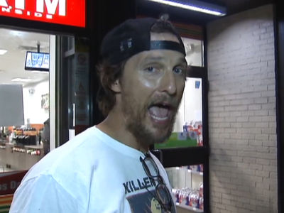 Matthew McConaughey -- I Got Charlie Strong's Back ... Texas Gonna Whoop TCU's Ass (VIDEO)