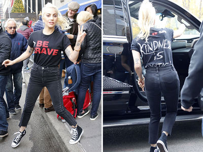 Lady Gaga -- I Got Major Gap in My Trunk!!! (PHOTOS)